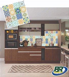 Adesivo de Parede Vinílico Mosaico 1 100x60cm