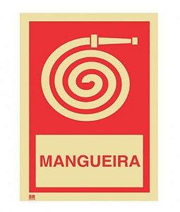 Placa Mangueira 15X20cm Fotoluminescente