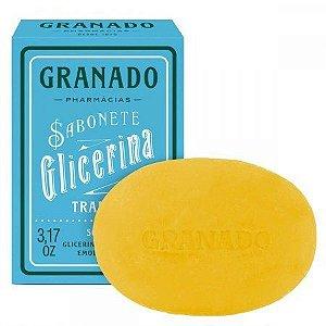 SABONETE BARRA GRANADO GLICERINA TRADICIONAL 90GR