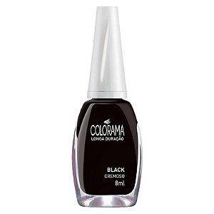 ESMALTE COLORAMA - BLACK