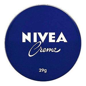 NIVEA CREME PELE LATA 29GRS