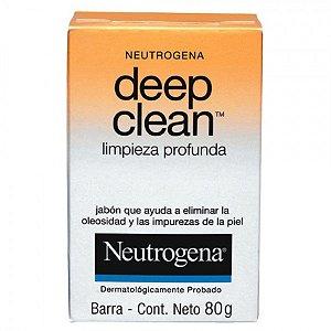 NEUTROGENA SABONETE FACIAL DEEP CLEAN 80GR