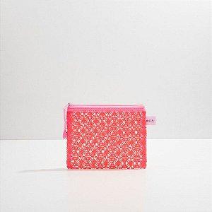 Oceane Nécessaire Rosa - Lace Bag P