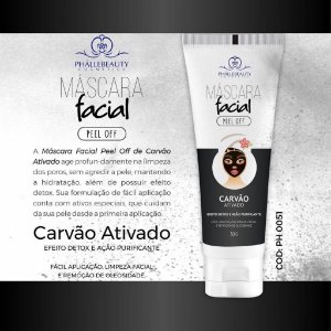 MASCARA FACIAL BLACK PHALLEBEAUTY PH0051