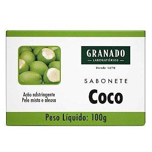 SABONETE BARRA GRANADO COCO 90GR