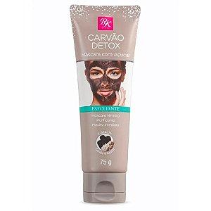 Máscara Facial Carvão Detox com Açucar RK by Kiss