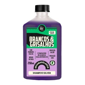 Lola Cosmetics Brancos & Grisalhos Shampoo Silver - 250ml