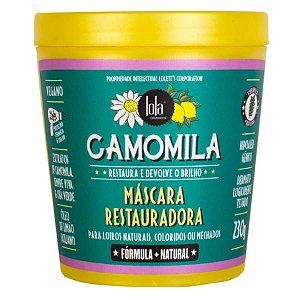 Lola Cosmetics Camomila - Máscara Restauradora - 230g