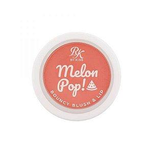 RK MelonPop Bouncy BlushLip - Coral Pop