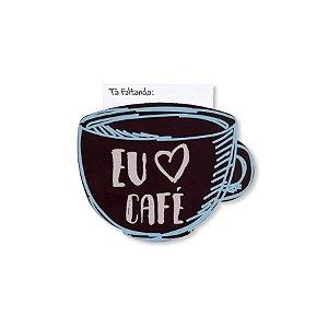 Super Imã de Geladeira Amo Café