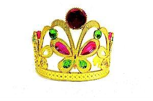 Coroa Butterfly Dourada