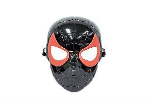 Máscara Homem Aranha Preto Vingadores Avengers