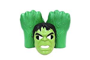 Mascara Hulk E Luva Avengers Ultimato Meninos Infantil