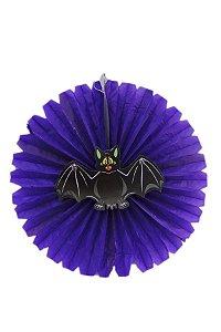 Balão Leque Halloween Morceguinho