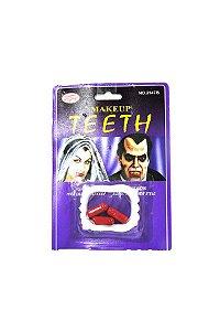 Dentadura com Sangue Artificial