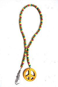 Colar Hippie Colorido Luxo