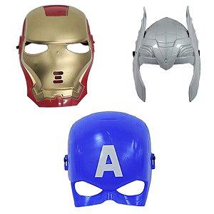 Mascara Homem De Ferro Thor E Capitão America Vingadores