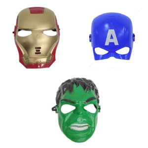 Mascara Homem De Ferro Capitão America E Hulk Vingadores