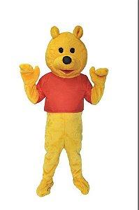 Fantasia Ursinho Pooh Mascote Pelucia