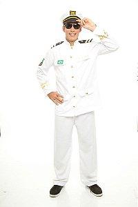 Fantasia Capitão da Marinha Adulto