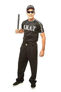 Fantasia Policial Swat Adulto