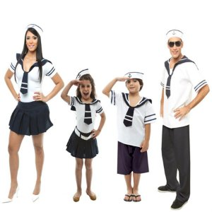 Fantasia De Marinheiros Para Familia