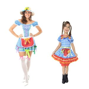 Vestido Festa Junina Mãe e Filha