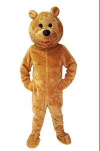 Fantasia Urso Mascote Adulto Boneco