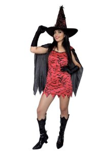 Fantasia Vampira Adulto - Kit 4 peças