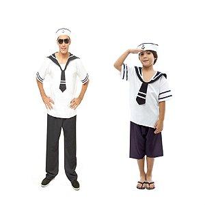 Fantasia Marinheiro Pai e Filho