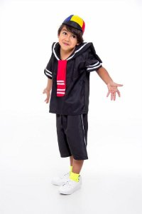 Fantasia Kiko Infantil da Turma do Chaves
