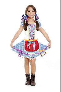 Vestido Festa Junina Florista Infantil Junino