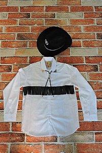 Camisa e Chapeu Cowboy Country Infantil Unissex