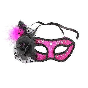 Mascara Carnaval com Plumas