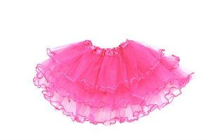 Saia de Tule Simples Pink Infantil