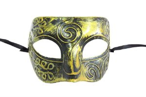Mascara Veneziana Dourada