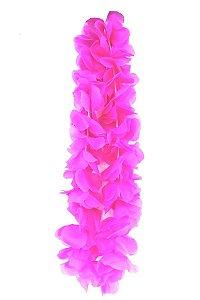 Colar Havaiano Neon Rosa