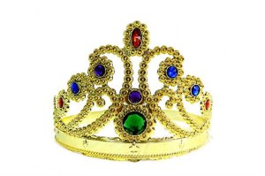 Coroa Rainha Dourada