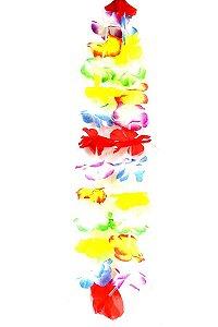 Colar Havaiano Simples Colorido