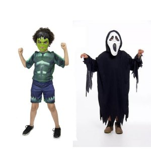 Fantasia Hulk Avengers E Panico Halloween Infantil
