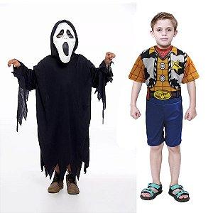 Fantasia Panico E Woody Toy Story Infantil