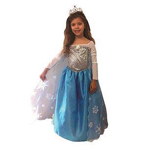 Fantasia Princesa Elsa Frozen