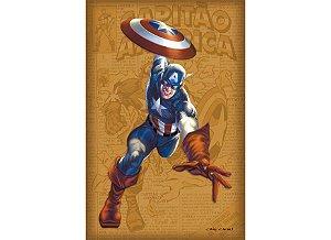 Dossiê GRANDES REVISTAS 1: Capitão América