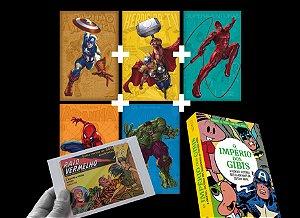 SUPERCOMBO HEROICA #2: Livro + dossiês 1 a 5 (+ 30 cards)
