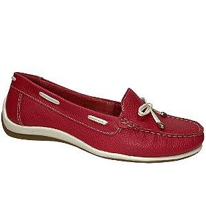 Sapato Feminino Bottero Mocassim Couro - 306101-24 - Pimenta