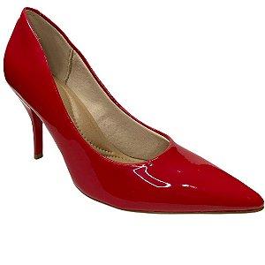 Sapato Feminino Beira Rio Scarpin - 4122.1100 - Vz Vermelho