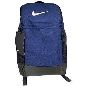 Mochila Nike Brsla M Bkpk 9.0 - BA5954-410 - Azul-Preto