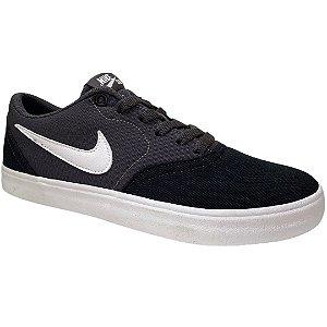 Tênis Masculino Nike Sb Check Solar Cnvs - 843896-023 -  Preto-Cinza