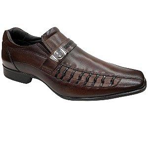 Sapato Masculino Rafarillo Social Couro - 79331-01 - Mogno
