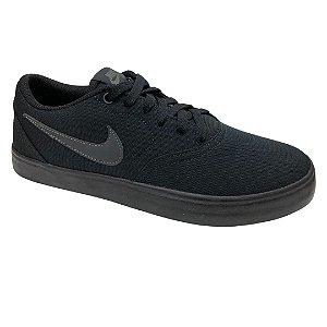Tênis Masculino Nike Sb Check Solar Cnvs - 843896-002 - Preto